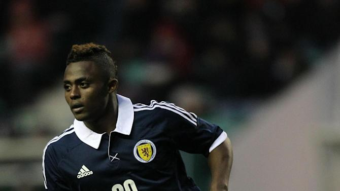 Islam Feruz scored an early double for Scotland Under-21s