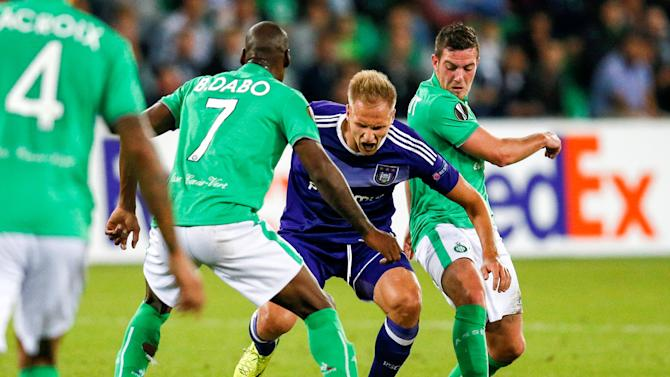 St Etienne v  Anderlecht  - UEFA Europa League Group Stage - Group C