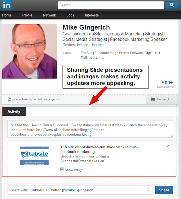 Top 6 Things To Review To Enhance Your LinkedIn Profile image linkedIN new slide feature1