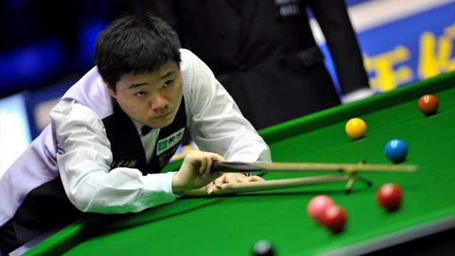 Snooker - Ding downs Robertson to win £100k at PTC Grand Finals
