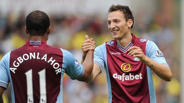 Premier League - Villa striker Kozak out for season with broken leg