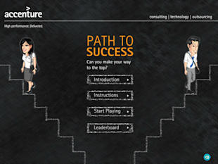 How To Leverage Facebook for Marketing B2B Brands image Accenture Path to Success App Intro