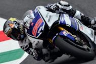 Spain's Jorge Lorenzo, shown during the Italian Grand Prix on the Mugello Circuit near Scarperia on July 14. World champion Lorenzo won the Italian MotoGP on Sunday to extend his lead in the overall standings