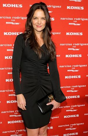 Katie Holmes attends Narciso Rodriguez Kohl's Collection Launch Party in New York City on October 22, 2012 -- Getty Images