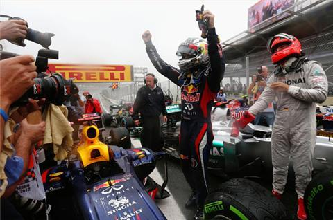 Red Bull recall 'nerve-wracking' race