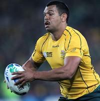 Kurtley Beale will start at fly-half against South Africa