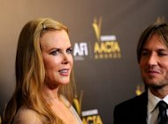 Nicole Kidman and husband Keith Urban at the Australian Academy Of Cinema and Television Arts' 1st Annual Awards on January 27. David Cronenberg, Ken Loach and Michael Haneke are among the top filmmakers set to compete at next month's Cannes film festival, organisers said Thursday, in a line-up studded with stars from Kidman to Brad Pitt
