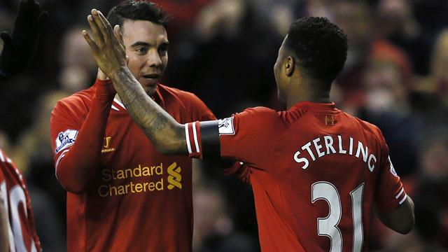 Premier League - Sterling enjoying encouraging input