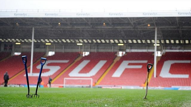 Football - United clash with Bees off