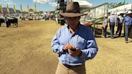 Hold the phone: NT Cattlemen's Association executive director Luke Bowen tells the major parties what the industry needs from government
