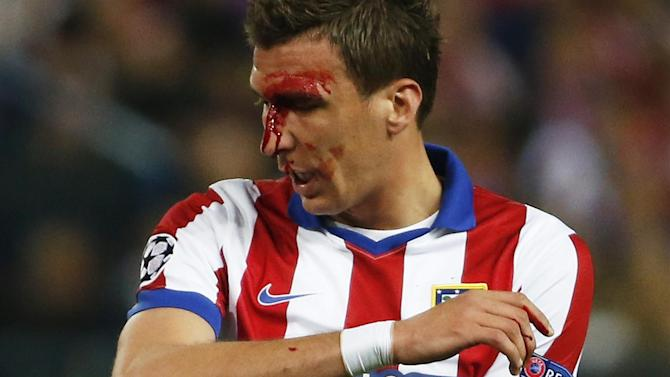 Champions League - Mario Mandzukic denies claims Dani Carvajal bit him