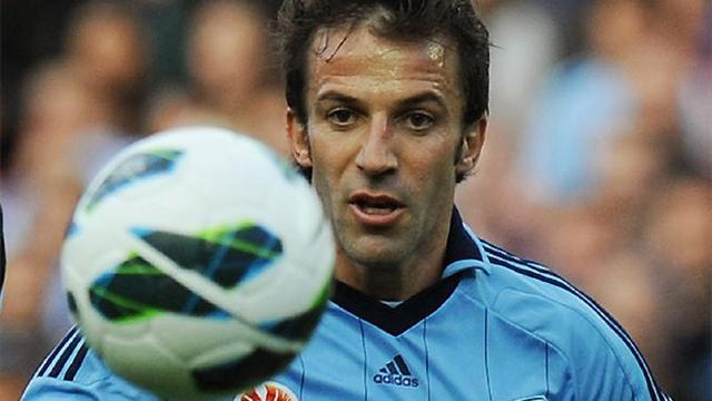 World Football - Coach: Del Piero needs more protection from refs
