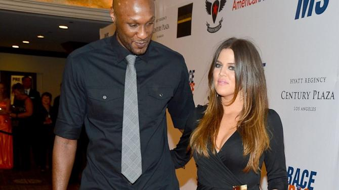 Khloé Kardashian Says Lamar Odom's Troubles Are 'More Than What I Can Control'