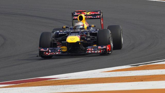 Formula 1 - Vettel fastest in Indian GP practice again