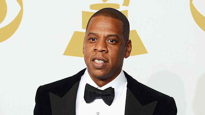 The 55th Annual GRAMMY Awards - Press Room: Jay-Z