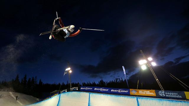 Freestyle Skiing - Cheshire secures historic victory in Calgary