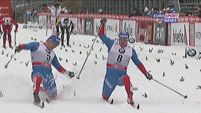 Cross-Country Skiing - Vylegzhanin wins 15km in photo finish