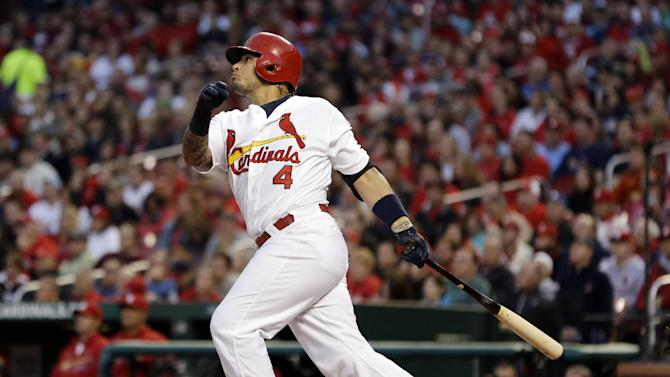 Overbay, Brewers beat Cardinals 5-4 in 11 innings