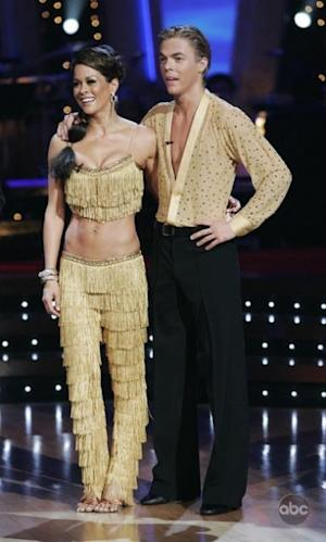 Brooke Burke and Derek Hough on 'Dancing with the Stars' -- ABC