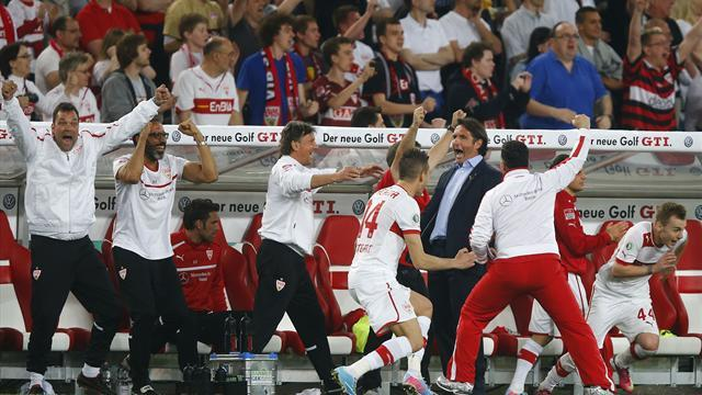 DFB Pokal - Stuttgart set up German Cup final with Bayern