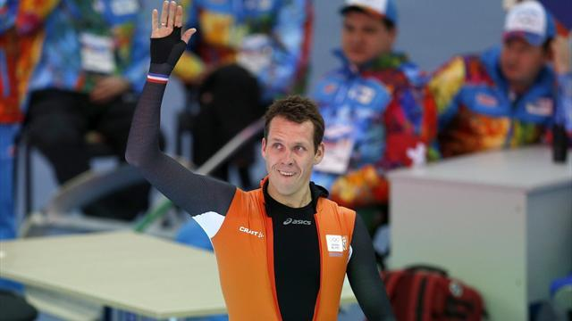Speed Skating - Dutch delight as Groothuis ends Davis run