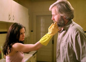 Anna Paquin and Jeff Daniels in Samuel Goldwyn Films' The Squid and the Whale