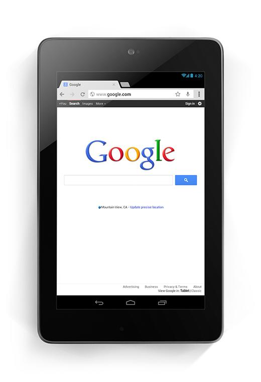 Nexus 7 for internet use