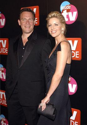 Andrea Parker and guest TV Guide & Inside TV After Party Emmy Awards - 9/18/2005