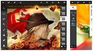 Best iPhone Apps to Improve Your Phone Photography image Adobe Photoshop Touch 600x330