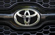 Toyota said Friday that its fiscal first-quarter profit skyrocketed to $3.71 billion as the Japanese auto giant recovered from last year's quake-tsunami disaster
