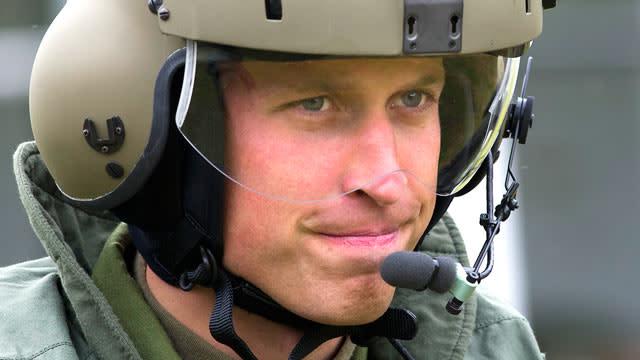 Prince William's Daring Rescue Effort
