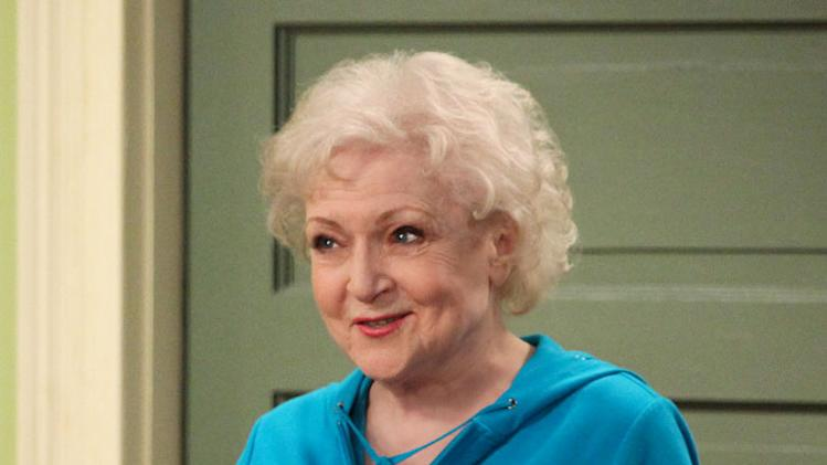 "Betty White stars as Elka Ostrovsky in ""Hot In Cleveland."""