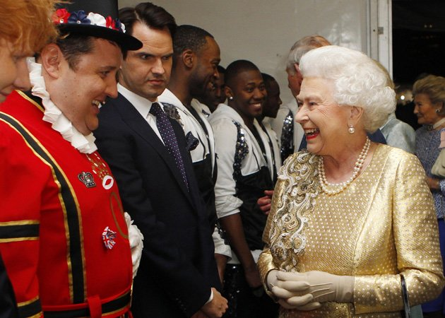 Peter Kay, Queen, backstage, Diamond Jubilee Concert