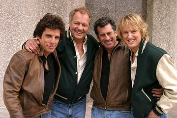 Ben Stiller , David Soul , Paul Michael Glaser and Owen Wilson in Warner Bros. Starsky & Hutch