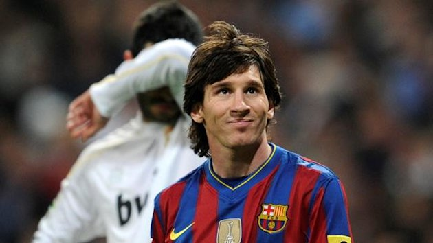 FOOTBALL 2010 Real Madrid-Barcelona (Messi)