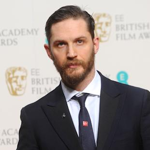 Science says bearded men like Tom Hardy aren't hot anymore
