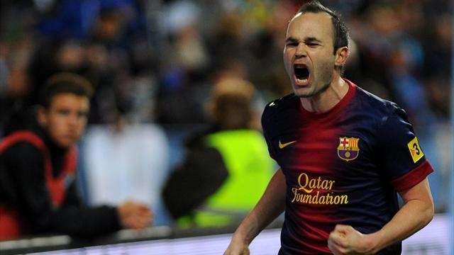 Premier League - Paper Round: Moyes wants Iniesta at United