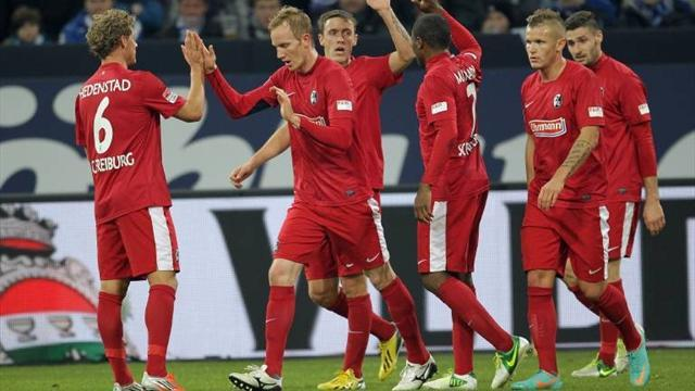 Bundesliga - Late win over Dusseldorf lifts Freiburg