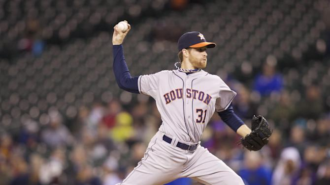 McHugh strikes out 12 as Astros beat Seattle 5-2