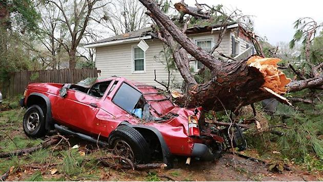 Mobile like a 'war zone' after deadly storm rolls through
