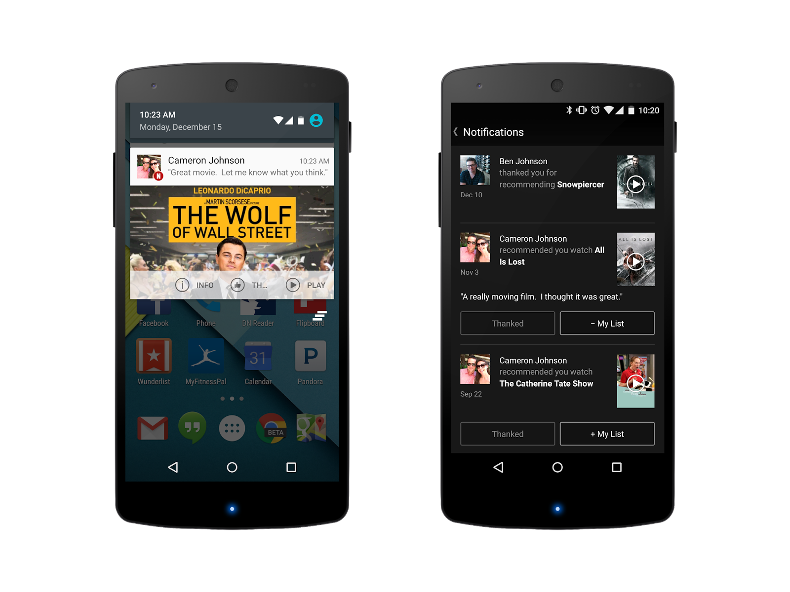 Netflix brings social recommendations to Android