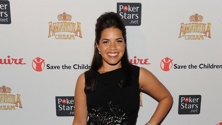 "America Ferrera attends the ""Save The Children"" Benefit at Esquire Soho on October 12, 2009 in New York City."