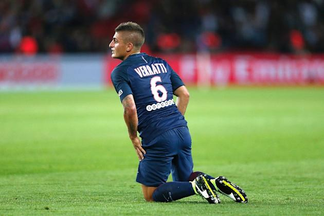 PSG midfielder Marco Verratti is expected to make his first Italy appearance since qualifying for Euro 2016