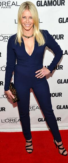 Chelsea Handler's Cleavage-Baring Jumpsuit: Love It or Hate It?