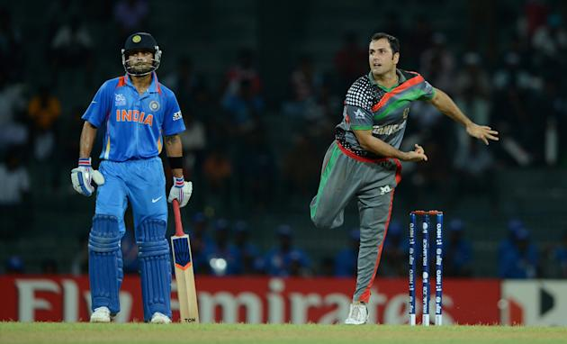 India v Afghanistan - ICC World Twenty20 2012: Group A
