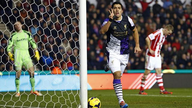 Premier League - Liverpool edge out Stoke in eight goal thriller