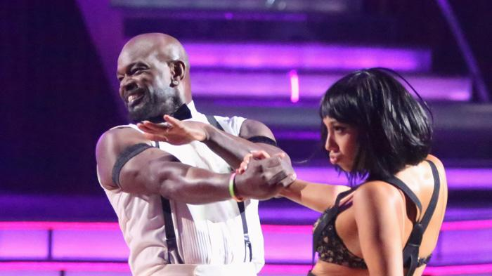 Emmitt Smith and Cheryl Burke (11/19/12)