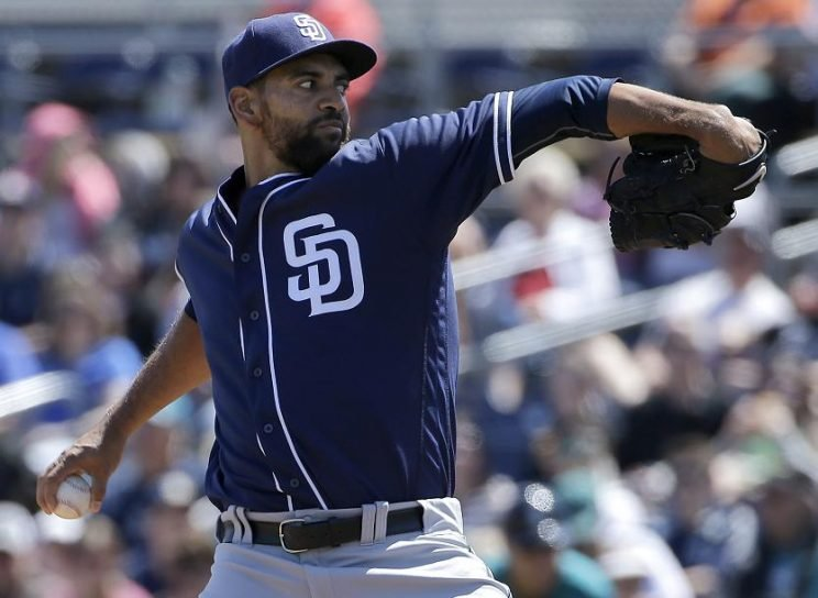 Tyson Ross is an intriguing new free agent after being non-tendered by the Padres. (AP)