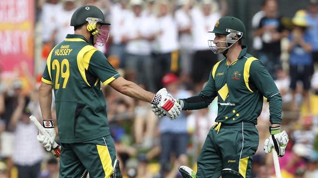 Cricket - Hughes century lifts Australia to final ODI victory