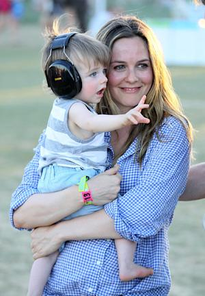 Alicia Silverstone Defends Pre-Chewing Food for Son Bear, 10 Months